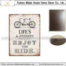 Factory Custom Retro Metal Signs pour décoration intérieure
