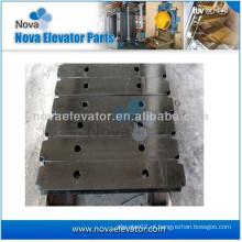 Bloco de contrapeso de placa de aço de alta qualidade