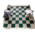 Juego de ajedrez conjunto de paquete de bolsa de lona al por mayor