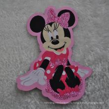 Ткань Mikey Patch для детской этикетки для одежды