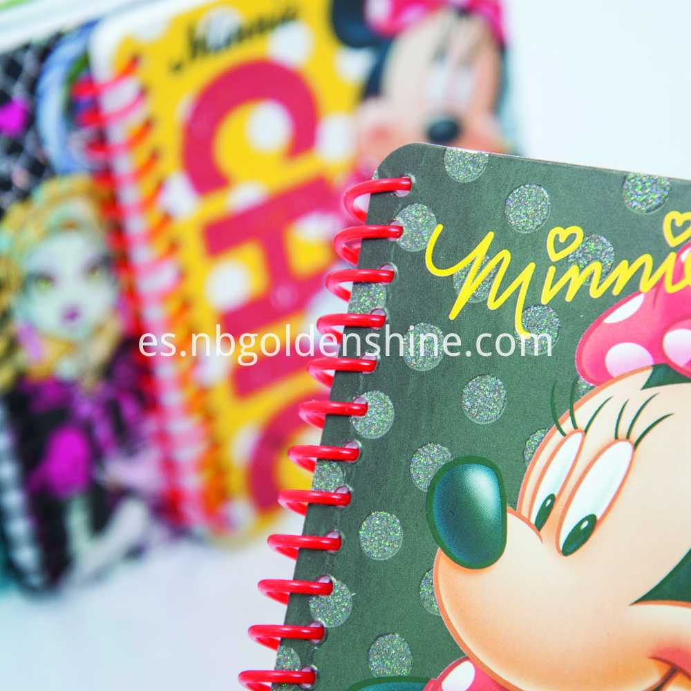 Mini Glitter Notepad Journal