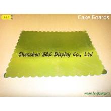 Eco-Содружественный квадратный торт лоток, разных размеров, разных цветов для Вас выбирают (B и C-K076)