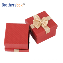 Cheap custom large kraft square gift box logo small luxury single watch gift packaging large isplay box with lid