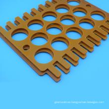 Piezas mecanizadas de procesamiento CNC Hoja de baquelita personalizada