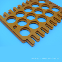 Feuille de bakélite personnalisée de traitement CNC de pièces usinées