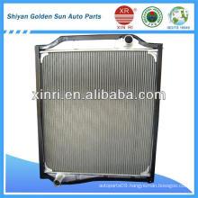 High quality aluminum auto radiator core from China DZ