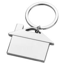 Металлический Подарочный Индивидуальный Печатный Логотип Простой брелок для ключей дома (F1325)