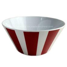 6 polegadas rodada salada de melamina Bowl