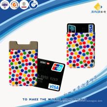 Горячие продажи бизнес подарок мило силиконовый мобильный телефон держатель карты