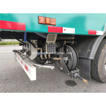 Dongfeng cuci air bertekanan Road Cleaning Sweeper Truck