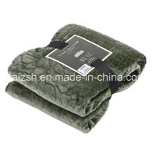 Plain Cobblestone Series Thickened Cashmere Flannel Blankets