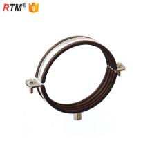 L 17 3 8 5 m8+10 Heavy type steel hinge lock welding type pipe clamp