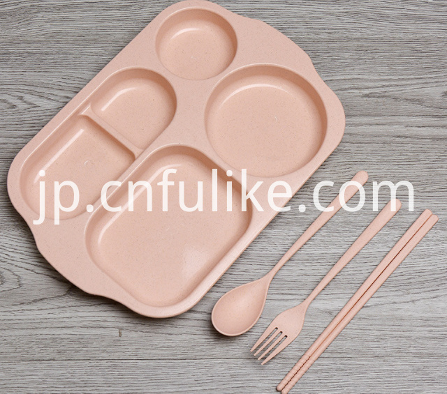 Wheat Straw Plastic Dinnerware