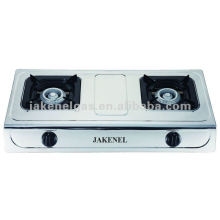 Stainless Steel Double Burner