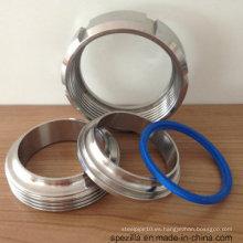 Accesorios de tubería sanitaria - Abrazadera de conector de vástago, baja presión