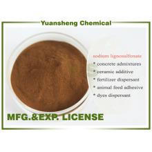 Aditivo para el hormigón de Lignosulfonate del sodio Mn-2 / productos químicos que broncean de cuero / material de construcción / reductor del agua