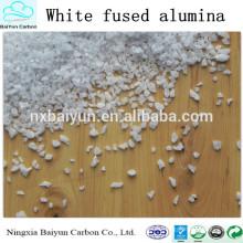 99% abrasivo de alta pureza Alúmina fundida blanca para la venta