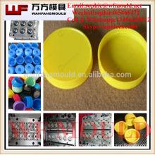 fabricación de moldes de inyección de plástico en China / OEM Sistema de canal caliente personalizado Inyección de plástico molde de tapa