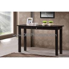 Mesa consola de madera, mesa de madera cajón