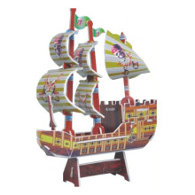 Best Selling Shaped 3D Puzzles Toy Corsair