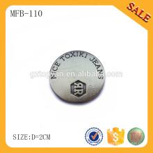 MFB110 съемная металлическая кнопка / кнопка для джинсов