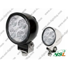 "12W 5"" LED Round Working Light for Road Vehicle, ATV, Truck, Bus (NSL-1204B)"