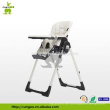 Bandeja amovível removível ajustável da bandeja quente do restaurante / cadeira do miúdo / cadeira dobrando