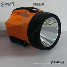 2016 La mejor luz del flash del CREE LED del superventas, luz de la búsqueda de la autodefensa con la venda de hombro