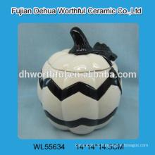 Индивидуальные керамические контейнеры Хэллоуина в форме тыквы