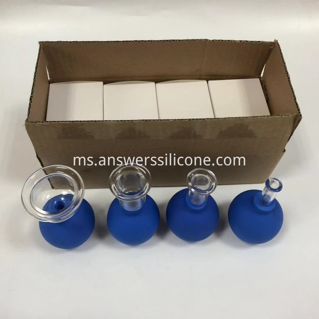 Cupping Set for Physio Therapy blue