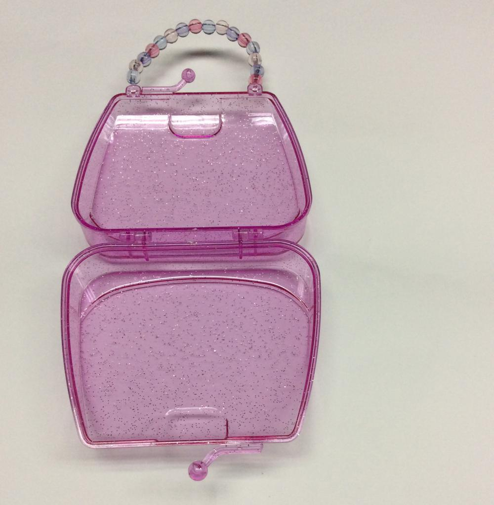 Plastic Handbag Shaped Storage Box