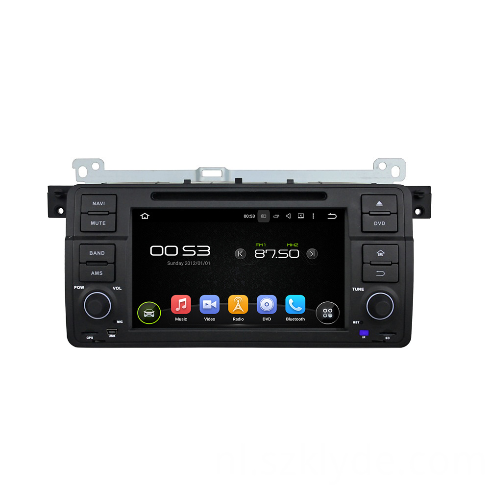 car Dvd Player for E46