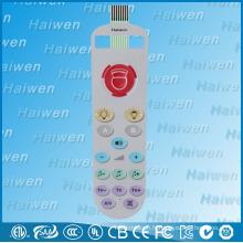 Interrupteur à membrane surmoulé à haute performance pour télécommande