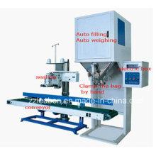Máquina de embalagem de arroz de duplo funil automática