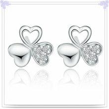 Мода серьги Кристалл ювелирные изделия стерлингового серебра 925 ювелирные изделия (SE021)