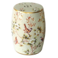 Porcelain Garden Stool Spring Birds