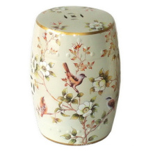 Taburete de jardín de porcelana Spring Birds