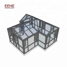 China Produzido Conservatório Sunroom Roof Kit com Janelas Deslizantes