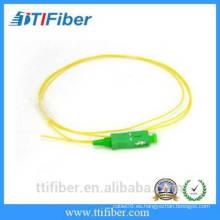 SC / APC Single mode 9/125 Simplex Cable de cable de fibra óptica de 2,0 mm
