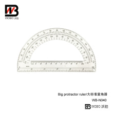 Plastic Protractor Ruler for Office and School Stationery