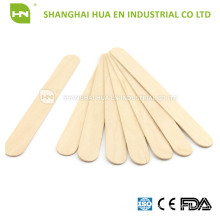 Non Sterile wooden tougue depressor for medical use