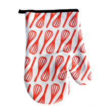 red eggbeater printed  Easter Cookies Baking Pot Holder Oven Mitts microwave oven gloves