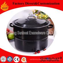 10qt Enamel Stock Pot Sunboat Houseware Customized