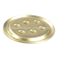 Household appliance customized punching parts brass flange
