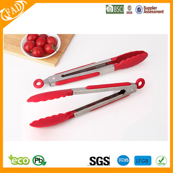 Locking Kitchen Tongs