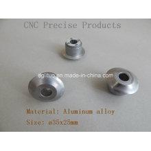 Tampa da lâmpada / produtos precisos do CNC / peças da iluminação do diodo emissor de luz