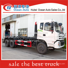 Dongfeng kinland hook lift garbage truck