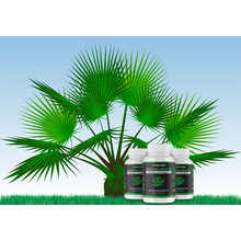 Wholesale Natural Plant Saw Palmetto Gummies Organic Gelatin Free Hair Gummies for Prostate Function and Hormone Balance