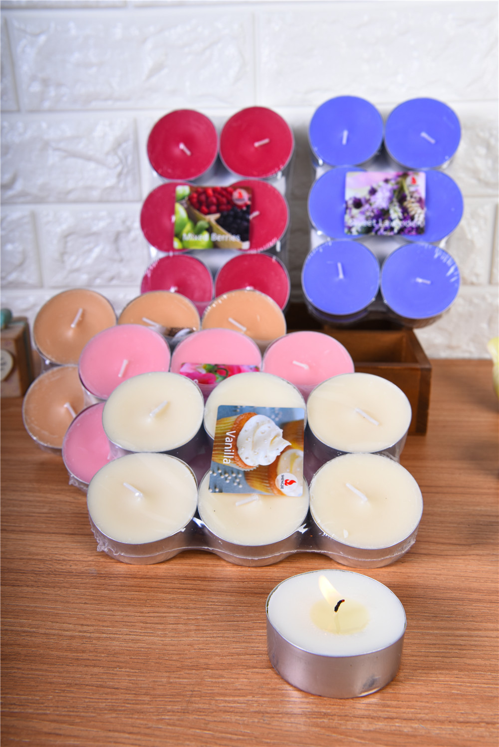 Tea Light Candles Scented