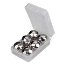 BPA livram pedras de refrigeração de aço inoxidável da bola dos diamantes